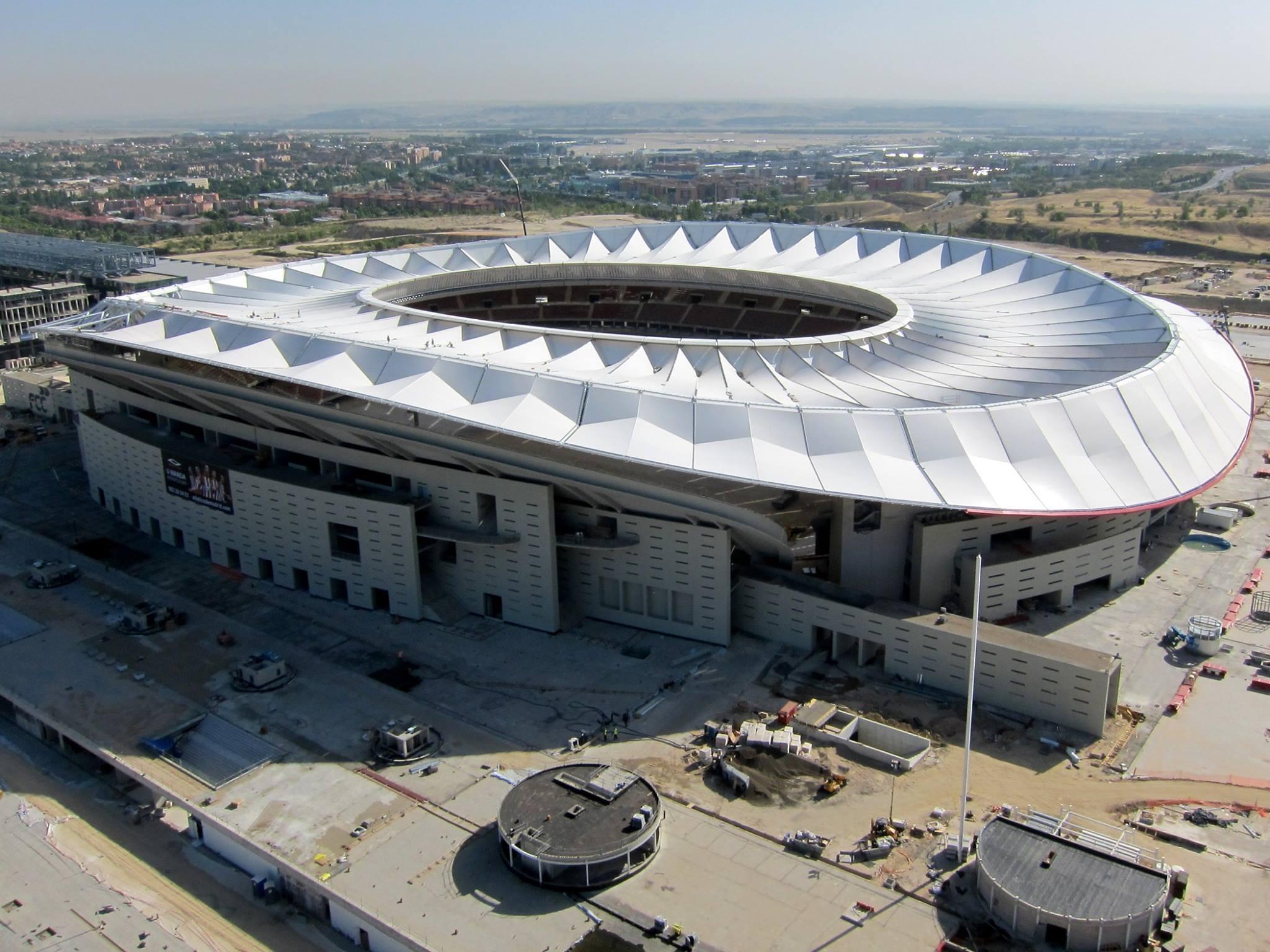 Estadio Wanda Metropolitano y metodología BIM