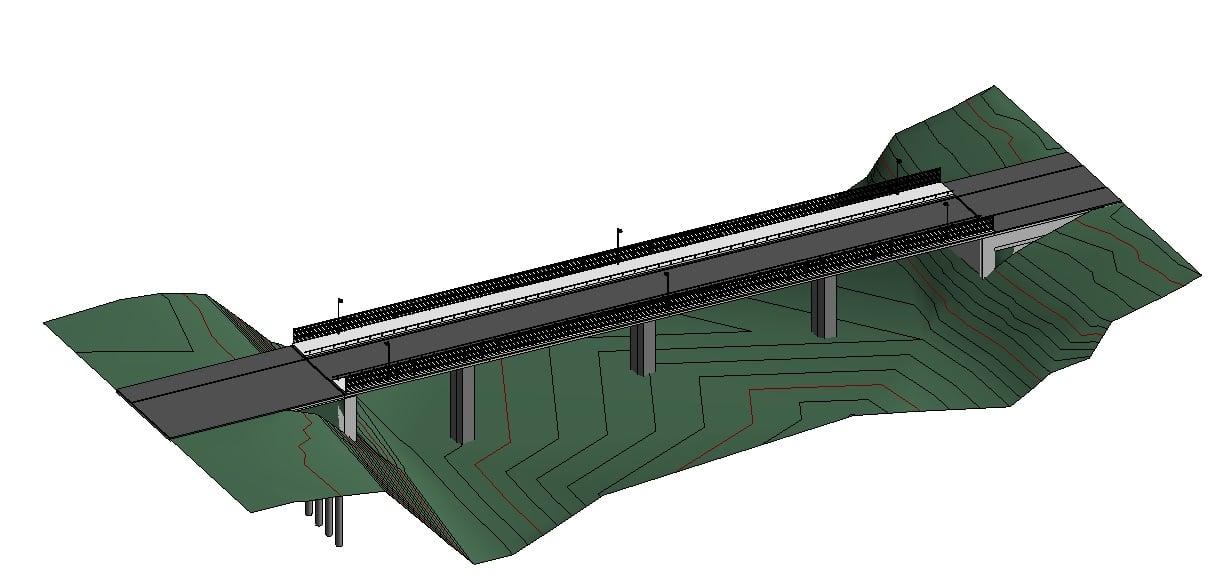 Modelo del puente