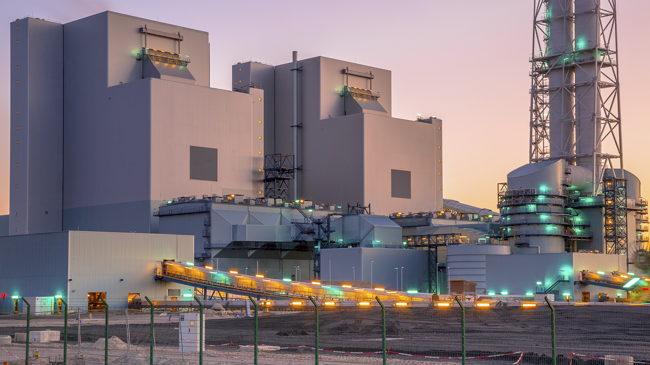 central de biomasa