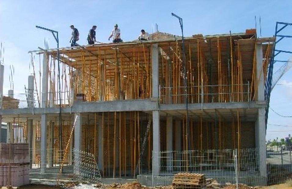Ejemplo de consrucción de estructura in situ