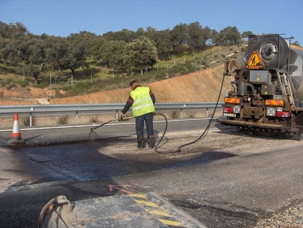 adherencia entre capas de asfalto