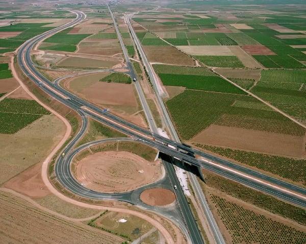 tipos de carreteras autovías