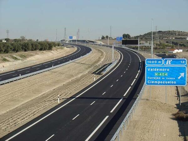 tipos de carreteras autopistas