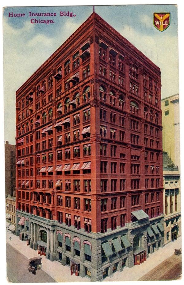 Home Insurance Building: la historia del primer rascacielos