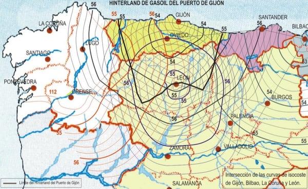 Hintyerland de gasoil puerto de Gijón