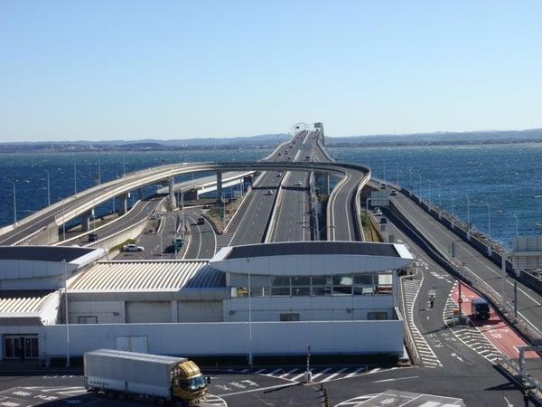 Resultado de imagen para Tokyo Aqua Line: El TÚNEL DE LA BAHÍA DE TOKYO