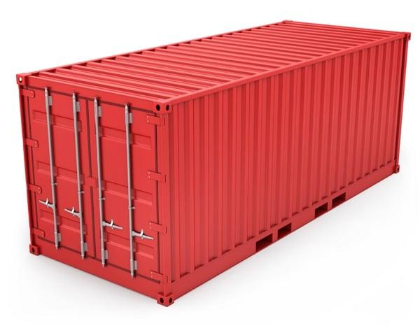 contenedor transporte marítimo