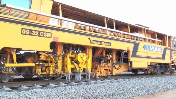 ferrocarril bateadora