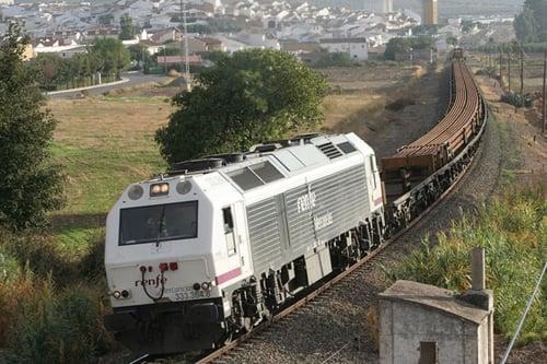 tren carrilero obras ferroviarias