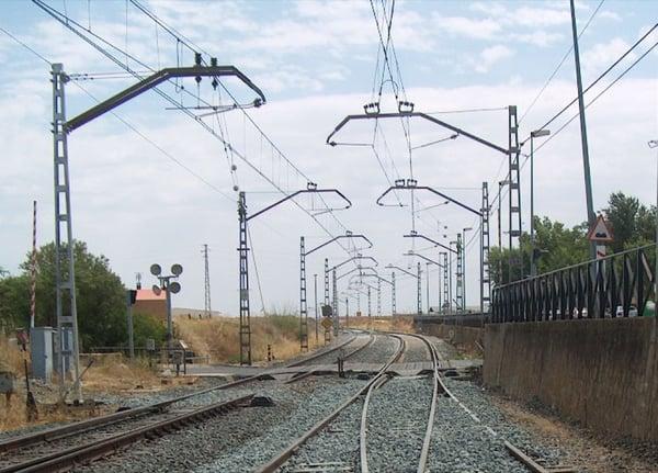 alimentación eléctrica en ferrocarriles