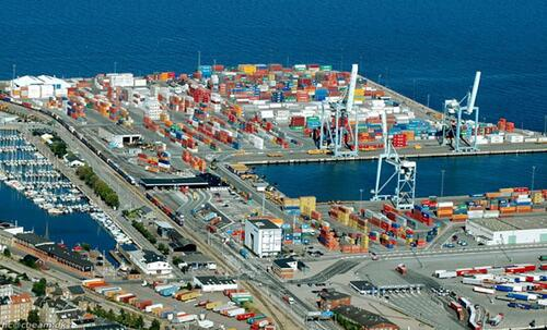 Puerto de Aarhus