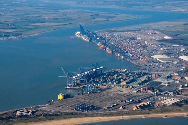 Puerto de Felixstowe
