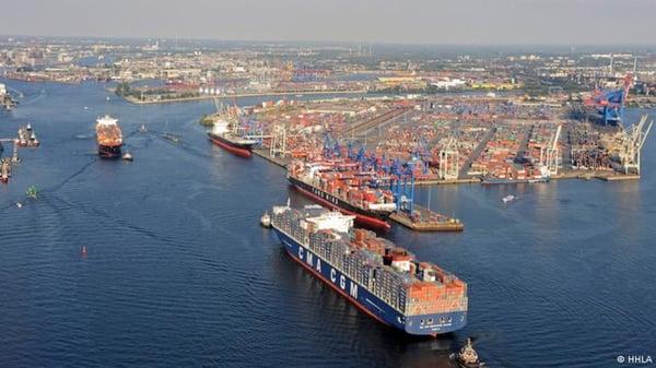 Puerto de Hamburgo,