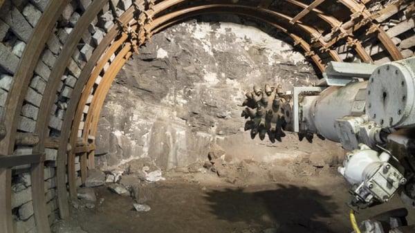 excavacion de tuneles rozadoras