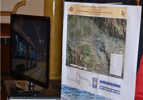 Tren Eléctrico Bolivia