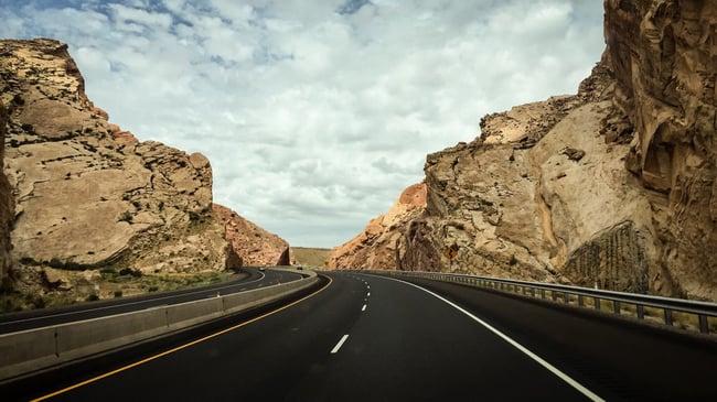 Talud carreteras