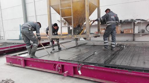 fabricación de paneles prefabricados de hormigón