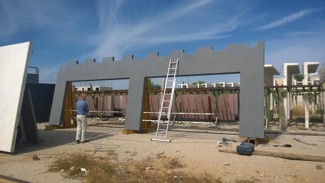 imagen de  obras de panel prefabricado