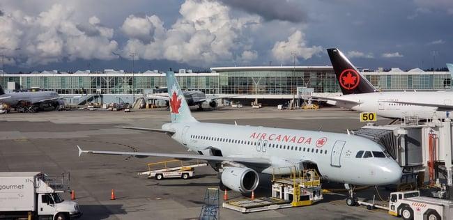 principales partes de un aeropuerto