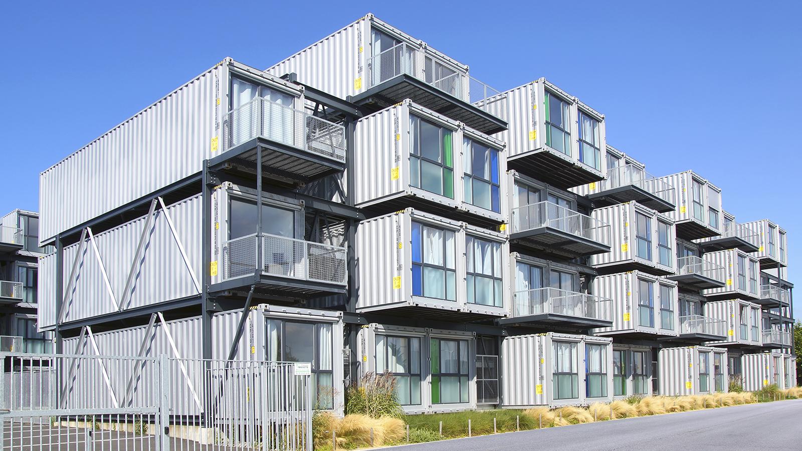 Arquitectura con contenedores: ¿Técnica de construcción o reciclaje?