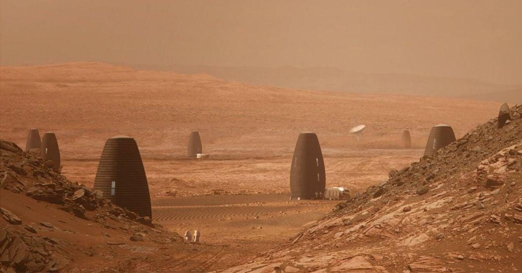Aplicaciones del hormigón para construir en Marte