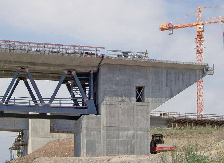 Estribos en puentes: tipología y materiales