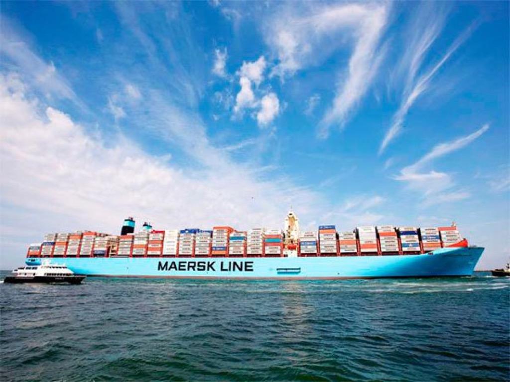 contenedor de transportes maritimos