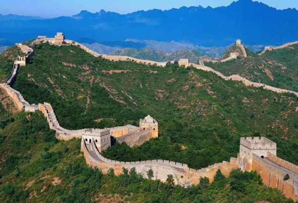 La Gran Muralla China La Construcción Más Grande Del Mundo