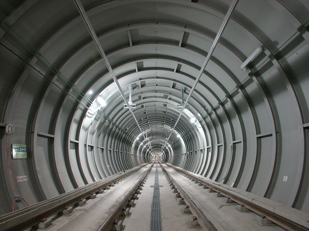 selección de un túnel