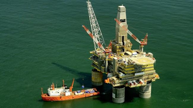 plataforma petroleo gas natural mar