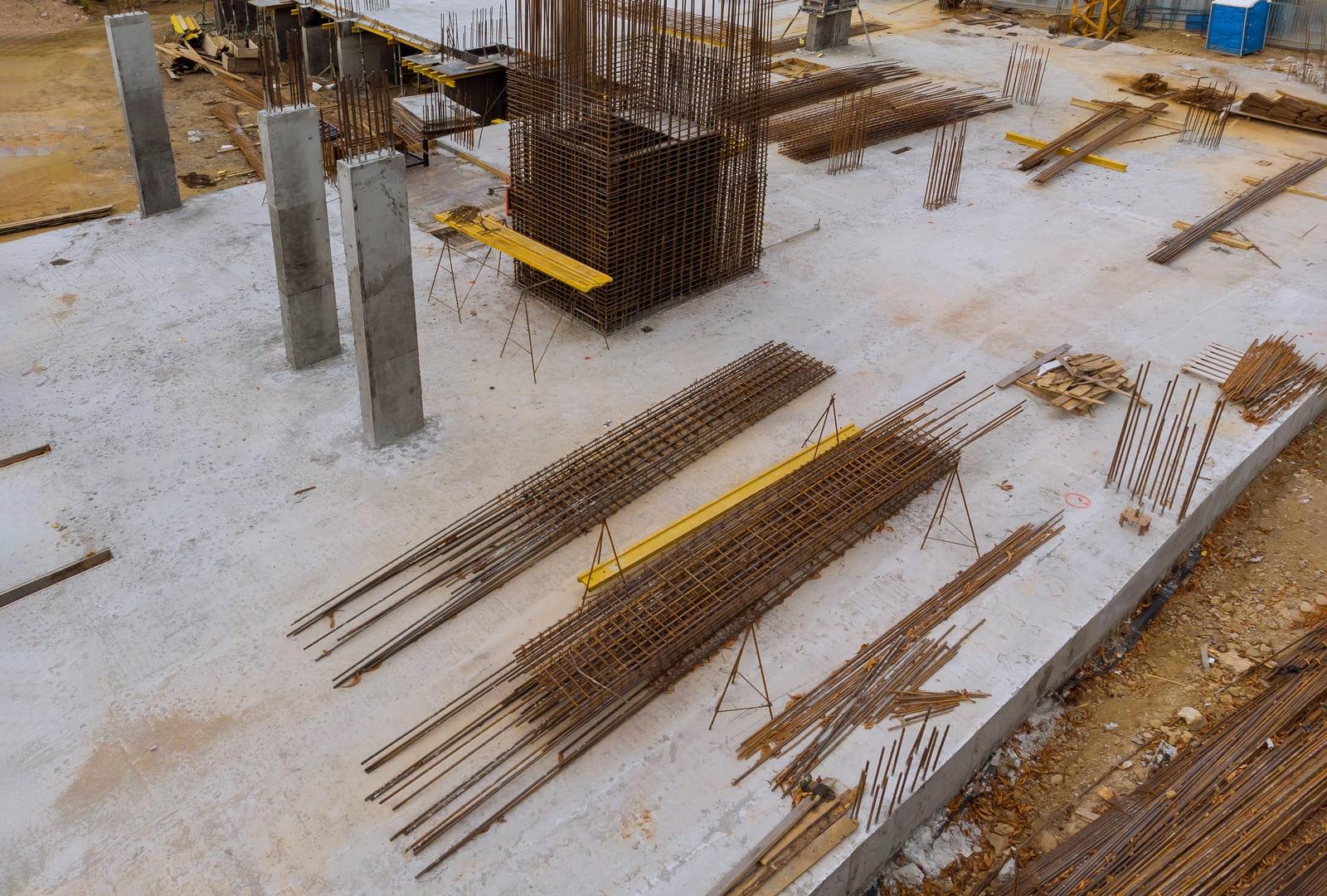 columnas de acero